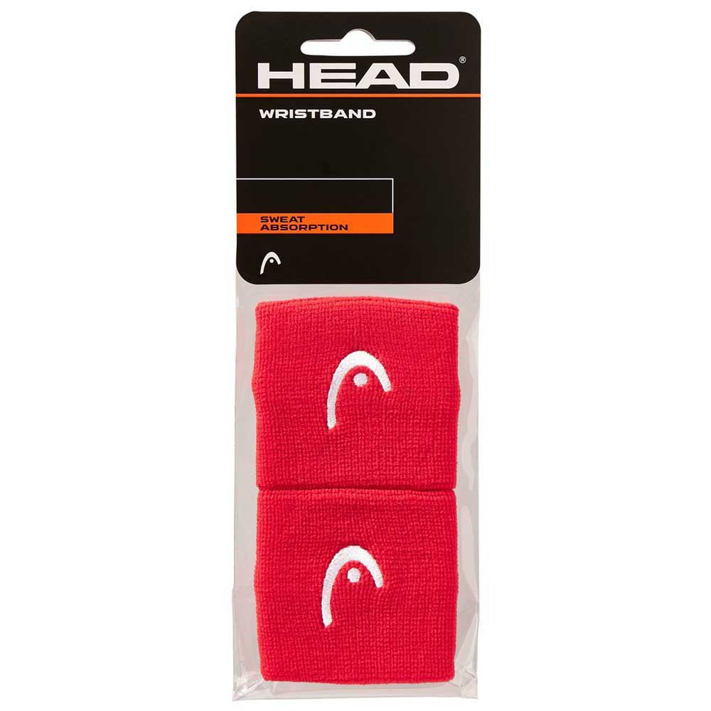 Head Racket Wristband 2.5´´ One Size Red