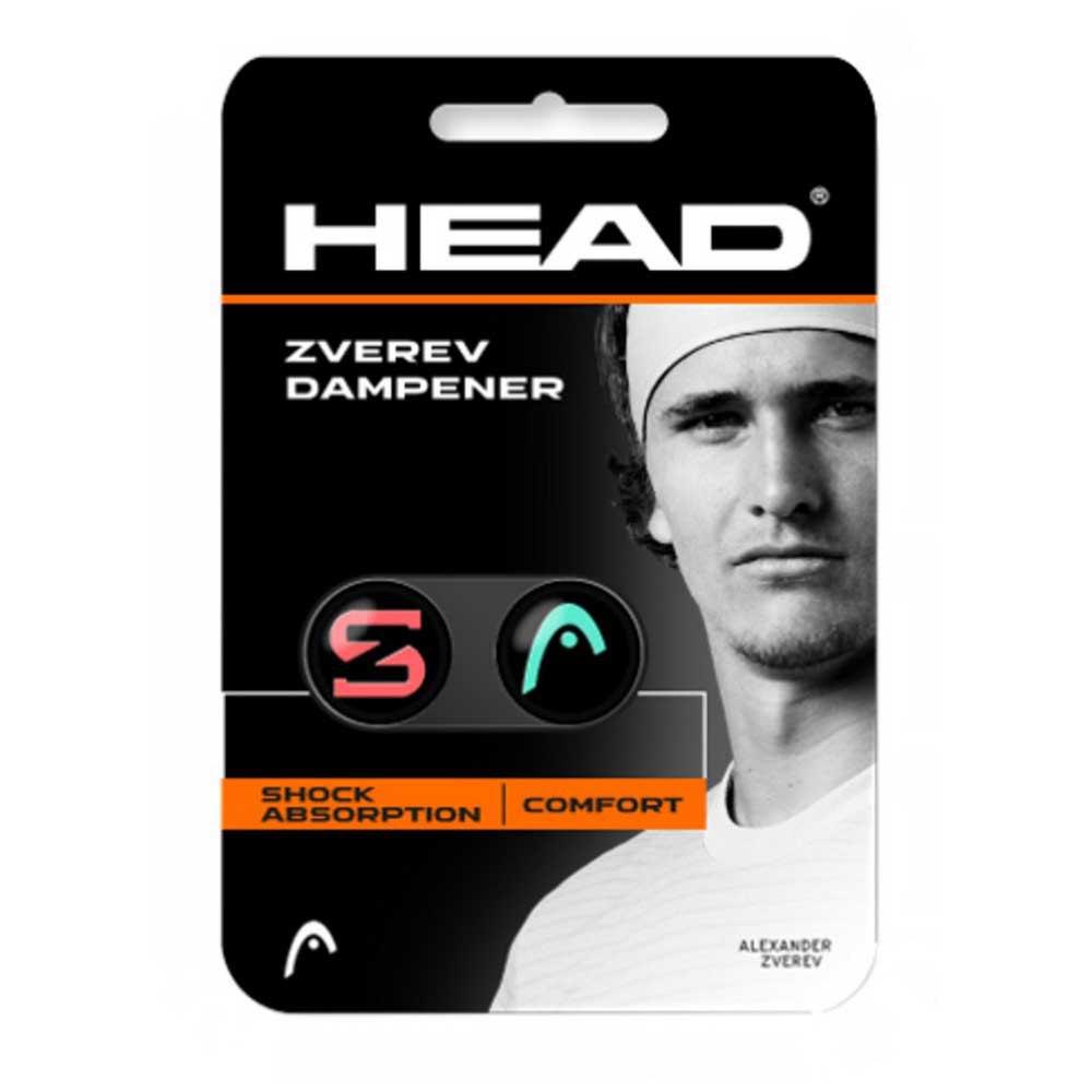Head Racket Zverev Dampener 2 Units One Size Teal / Hot Lava