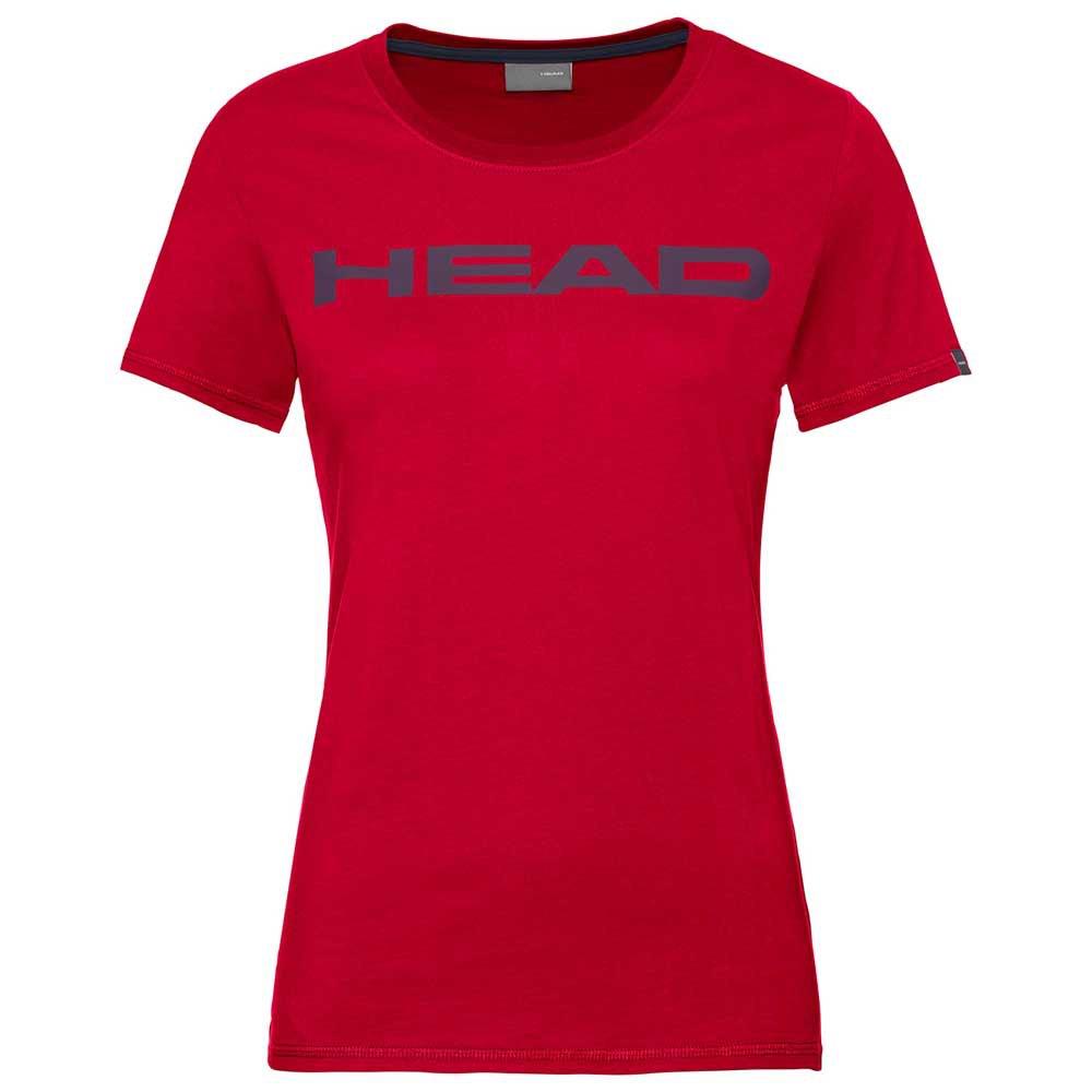 Head Racket T-shirt Manche Courte Club Lucy L Red / Dark Blue