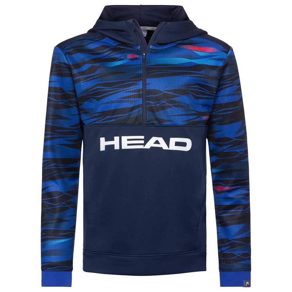 Head Racket Slider Hoodie 128 cm Camo Dark Blue
