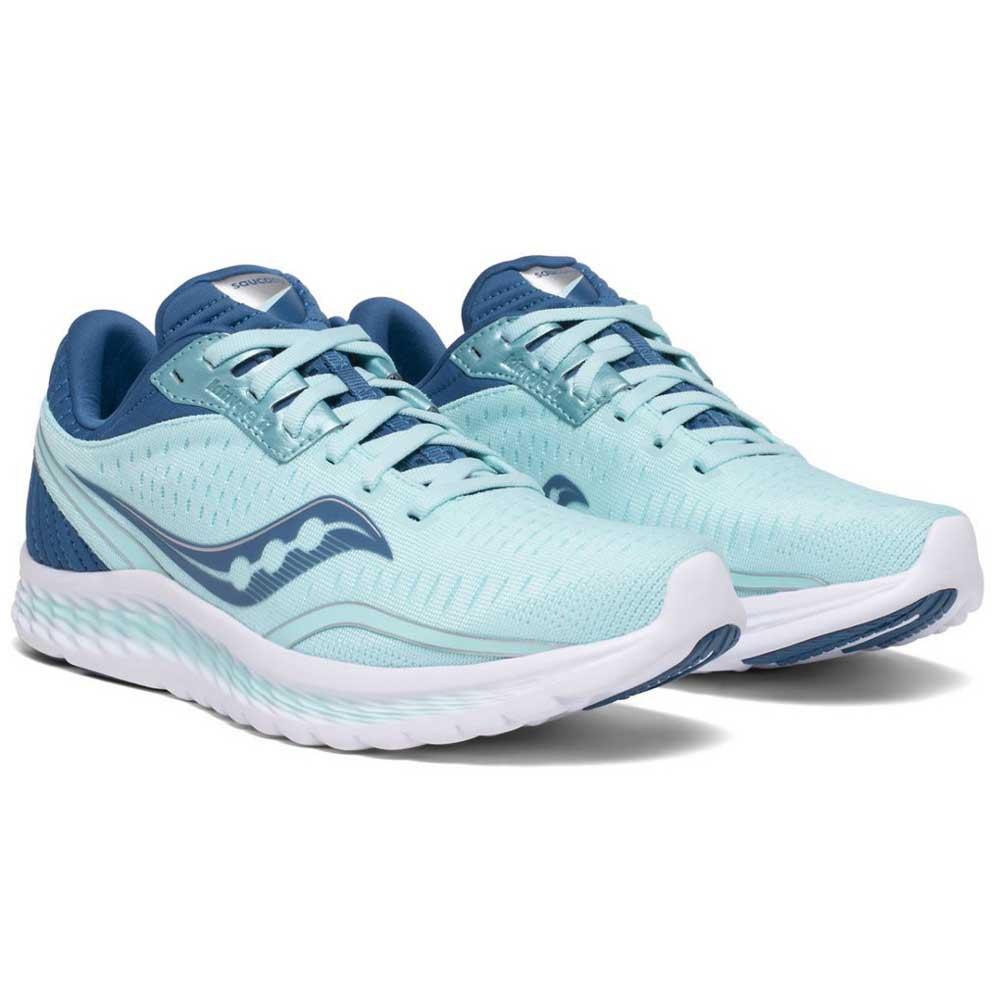 Saucony-Kinvara-11-Azul-T20807-zapatillas-Running-Mujer-Azul-Saucony-running miniatura 9