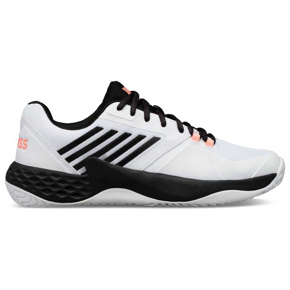 K-swiss Aero Court EU 41 White / Black / Soft Neon Orange
