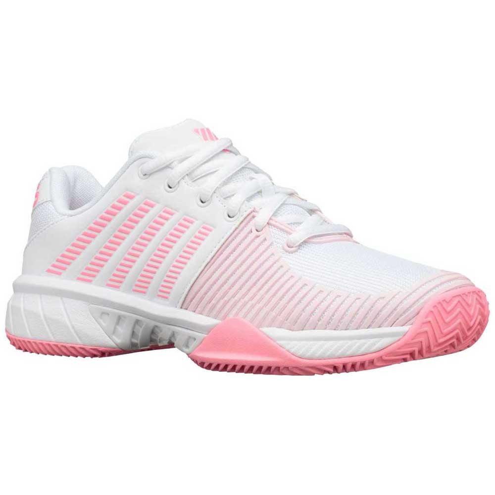 K-swiss Express Light 2 Hb EU 40 White / Soft Neon Pink