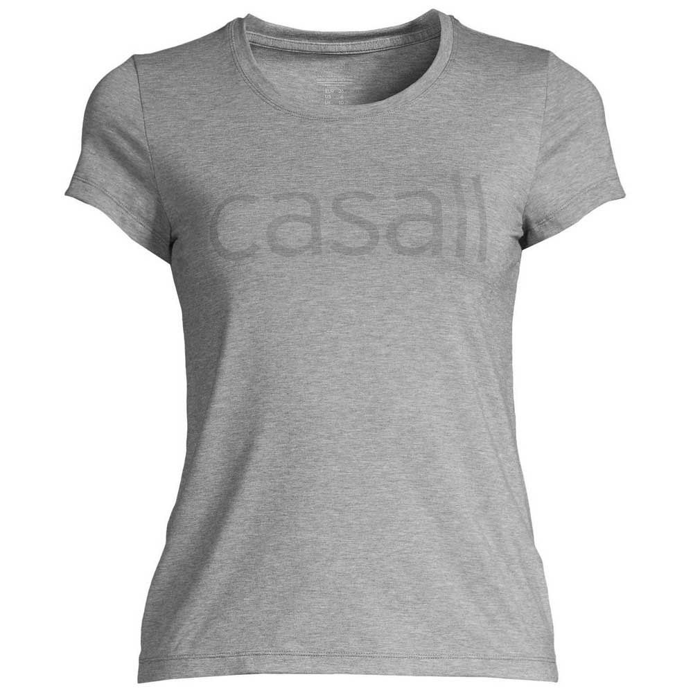 Casall Logo 34 Grey melange