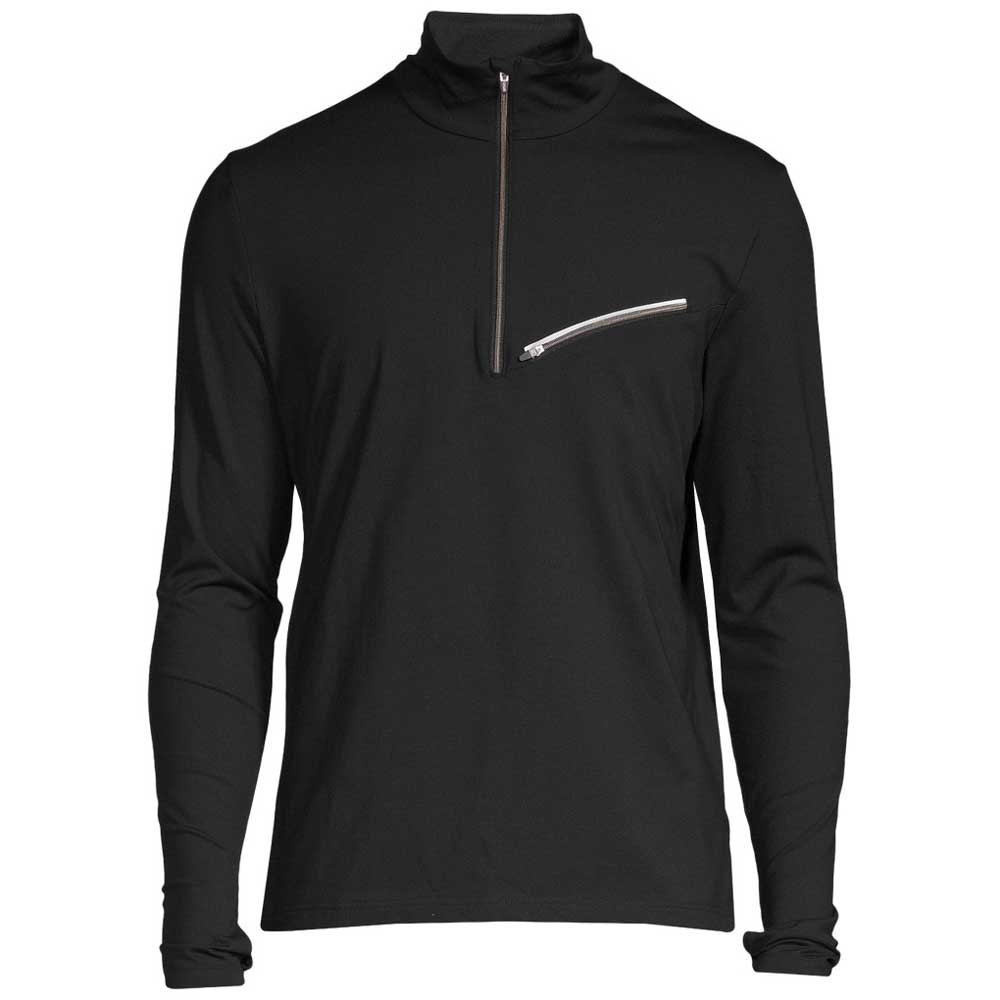 Casall M Reflective T-neck S Black