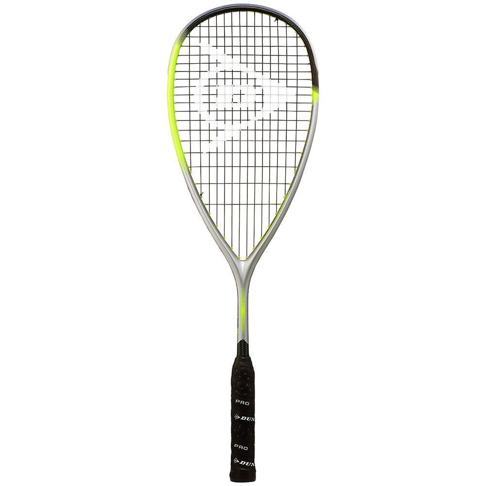 Dunlop Hyperfibre Xt Revelation 125 Squash Racket One Size Yellow / Silver