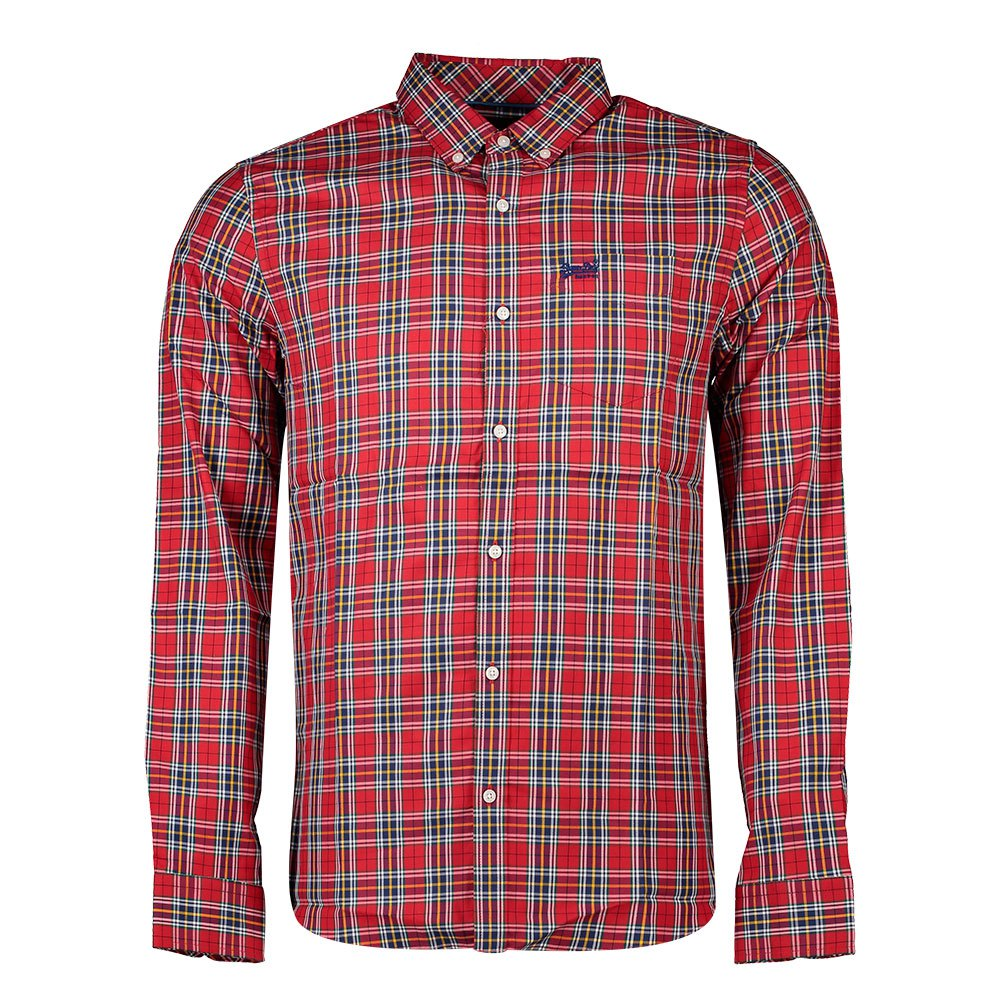Superdry Classic London M Douglas Red Check