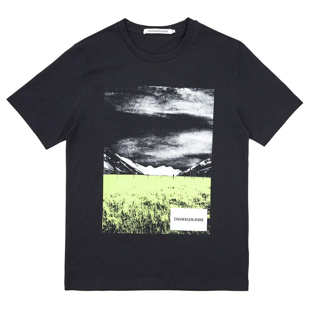 Calvin Klein Jeans Graphic Print XL Ck Black