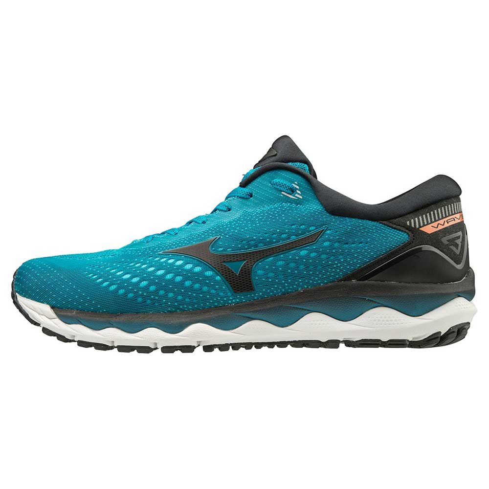 Mizuno Wave Sky 3 EU 41 Enamel Blue Nimbus Cloud Black