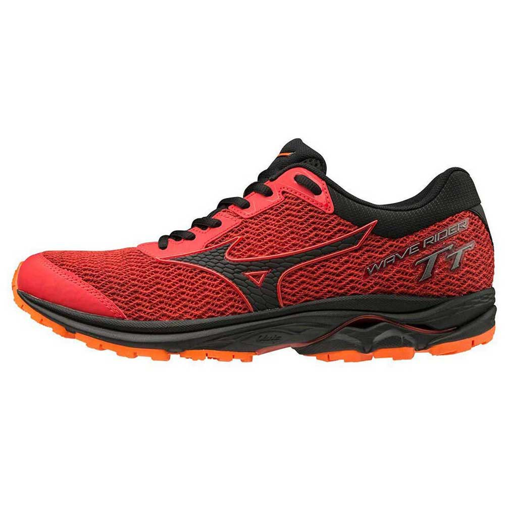 Mizuno Wave Rider Tt EU 44 High Risk Red / Black / Red Orange