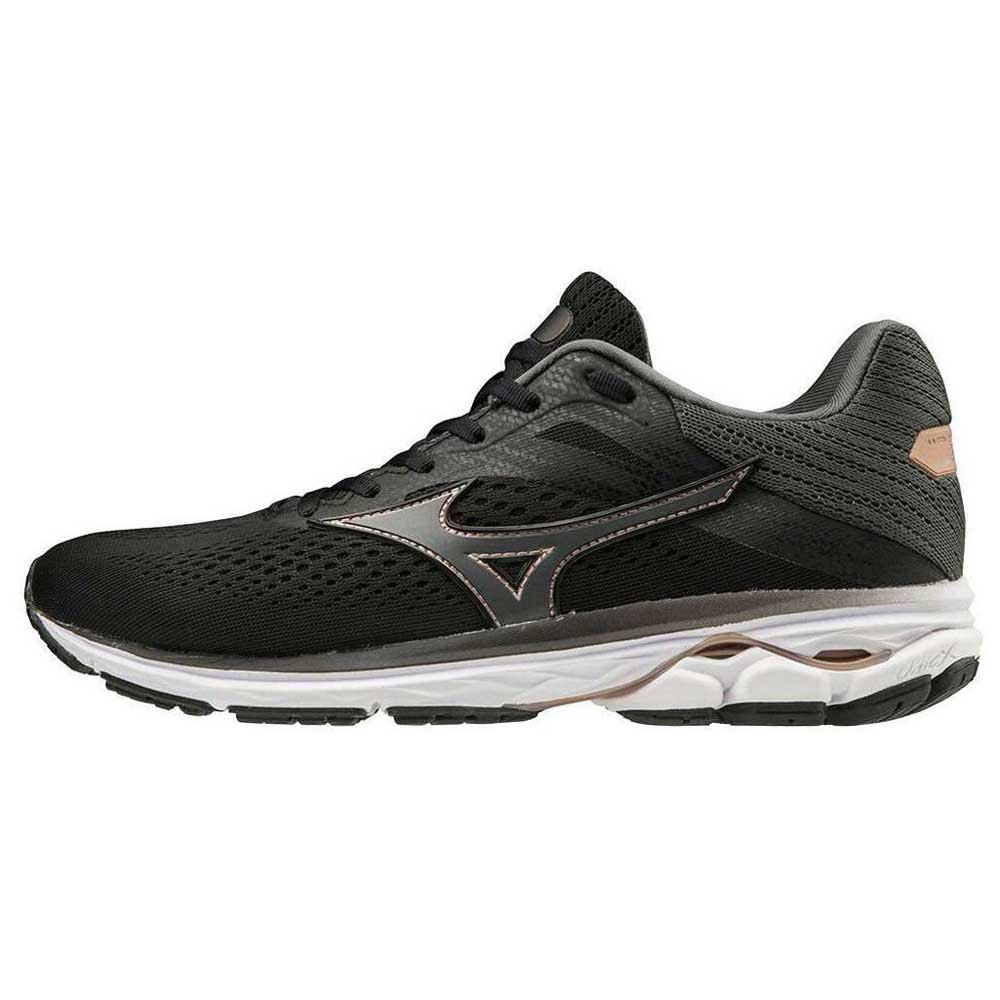 Mizuno Wave Rider 23 EU 40 Black / Dark Shadow / Champagn