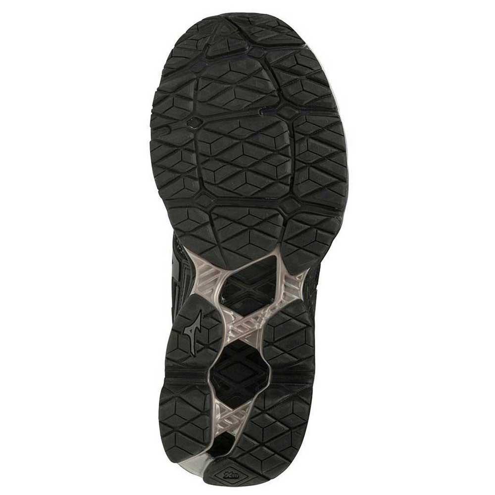 Mizuno-Wave-Creation-Waveknit-Negro-T21596-zapatillas-Running-Mujer-Negro miniatura 7