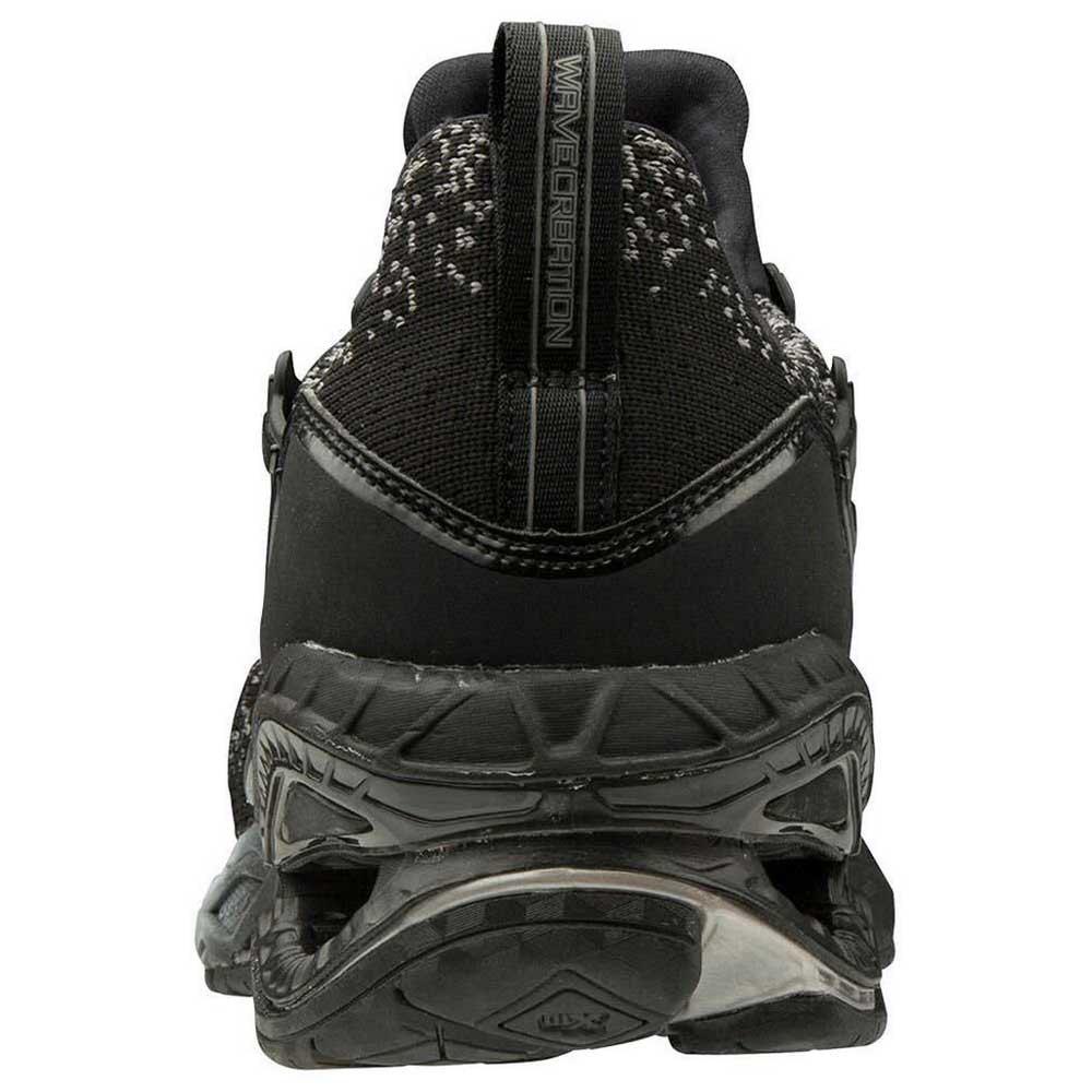 Mizuno-Wave-Creation-Waveknit-Negro-T21596-zapatillas-Running-Mujer-Negro miniatura 10