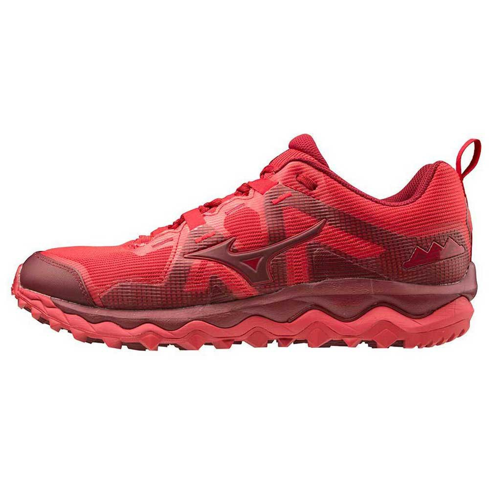 Mizuno Wave Mujin 6 EU 44 1/2 Chinese Red / Biking Red