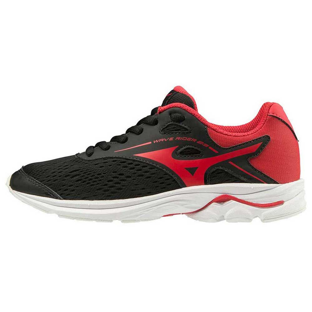 Mizuno Wave Rider 23 EU 36 1/2 Black / Chinese Red