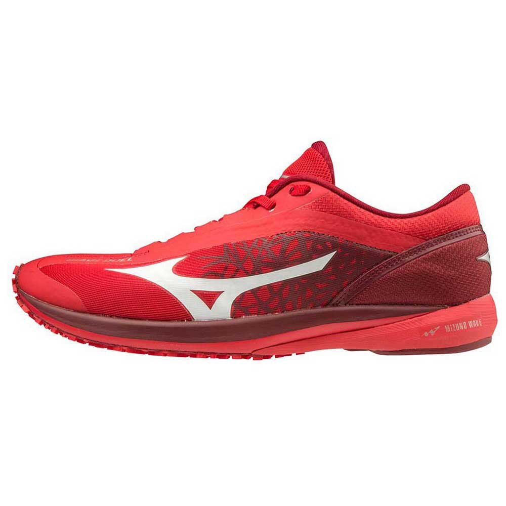 Mizuno Wave Duel EU 40 1/2 High Risk Red / White / Biking Red