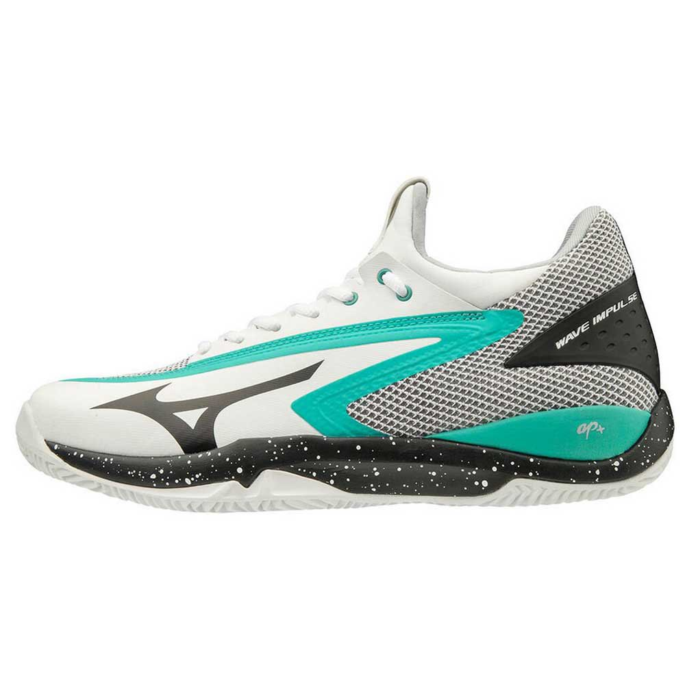 Mizuno Wave Impulse Cc EU 40 White / Black / Atlantis