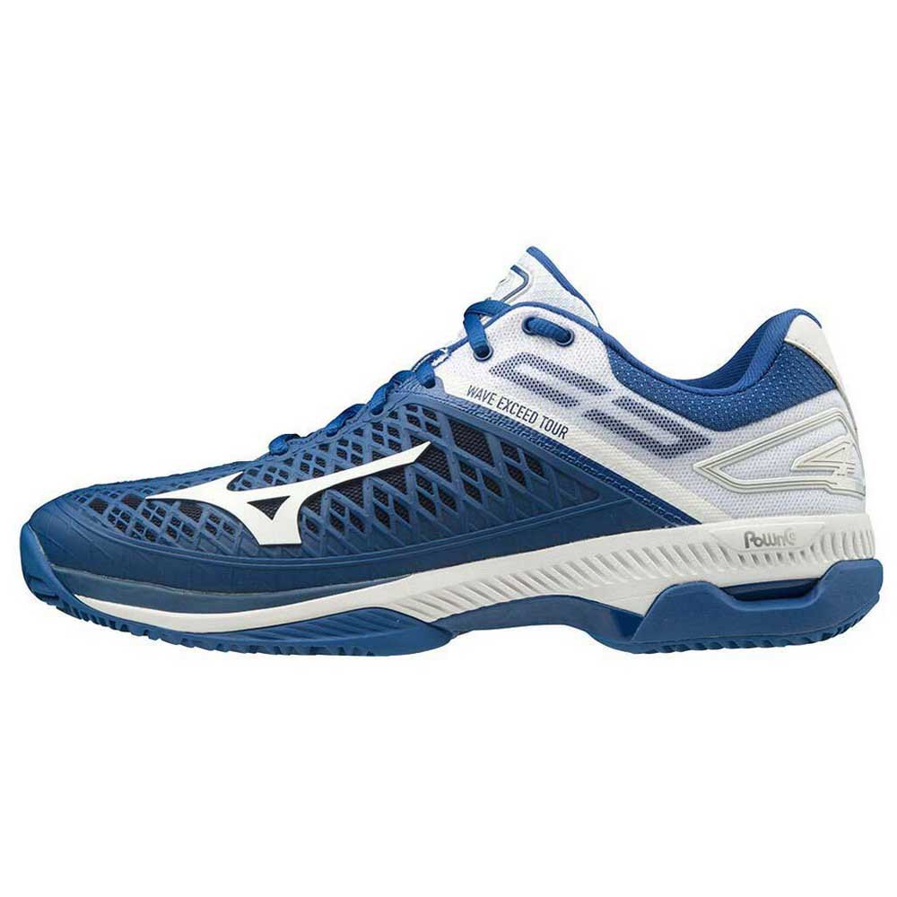 Mizuno Wave Exceed Tour 4 Cc EU 40 True Blue / White / Silver