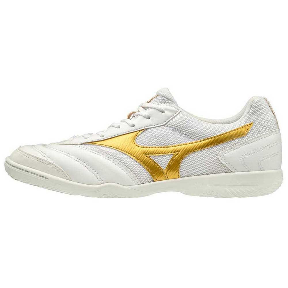 Mizuno Chaussures Football Salle Morelia Sala Club In EU 42 White / Gold