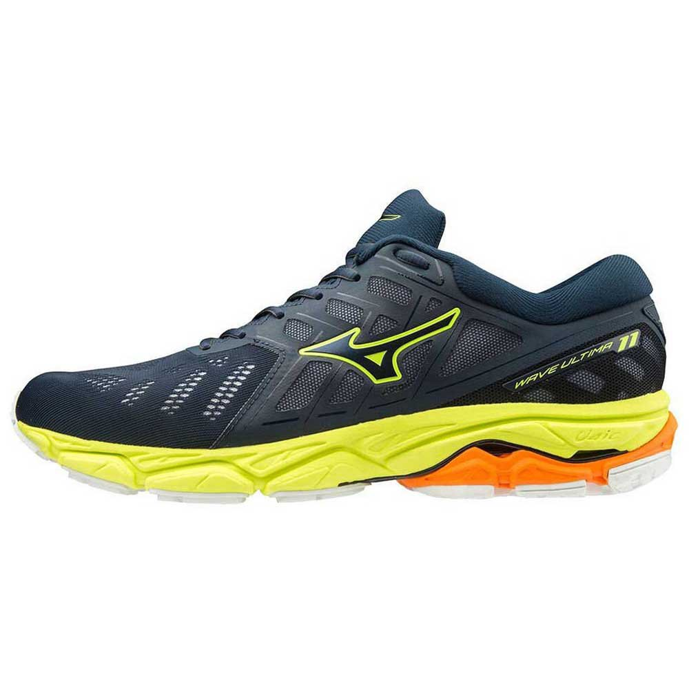 Mizuno Wave Ultima 11 EU 45 Dress Blues / Dress Blues / Safety Yellow