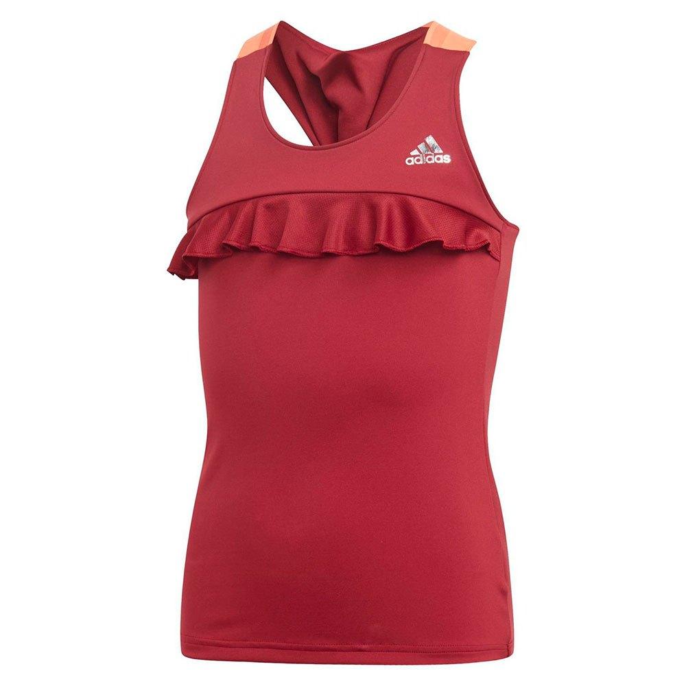 Adidas T-shirt Sans Manches Ribbon 152 cm Collegiate Burgundy