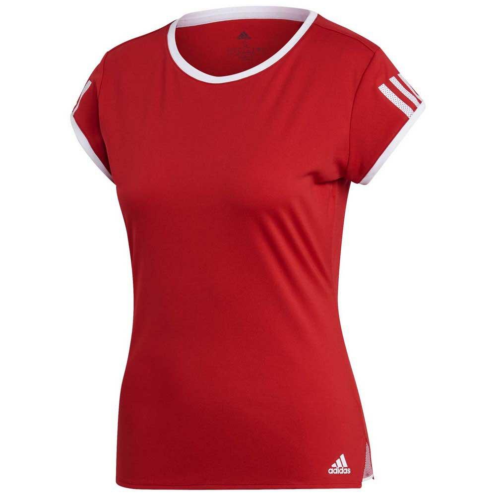 Adidas Club 3 Stripes M Scarlet