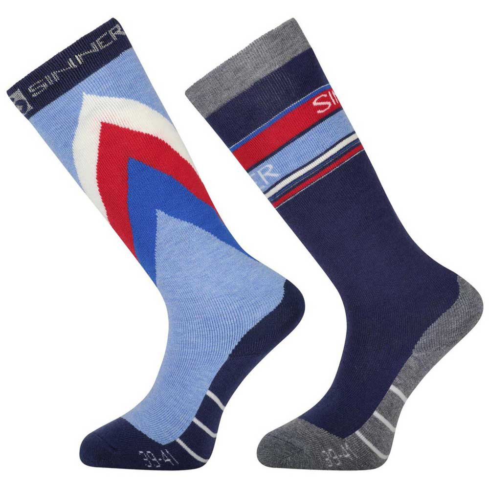 sinner-retro-socks-double-pack-eu-45-47-blue-red