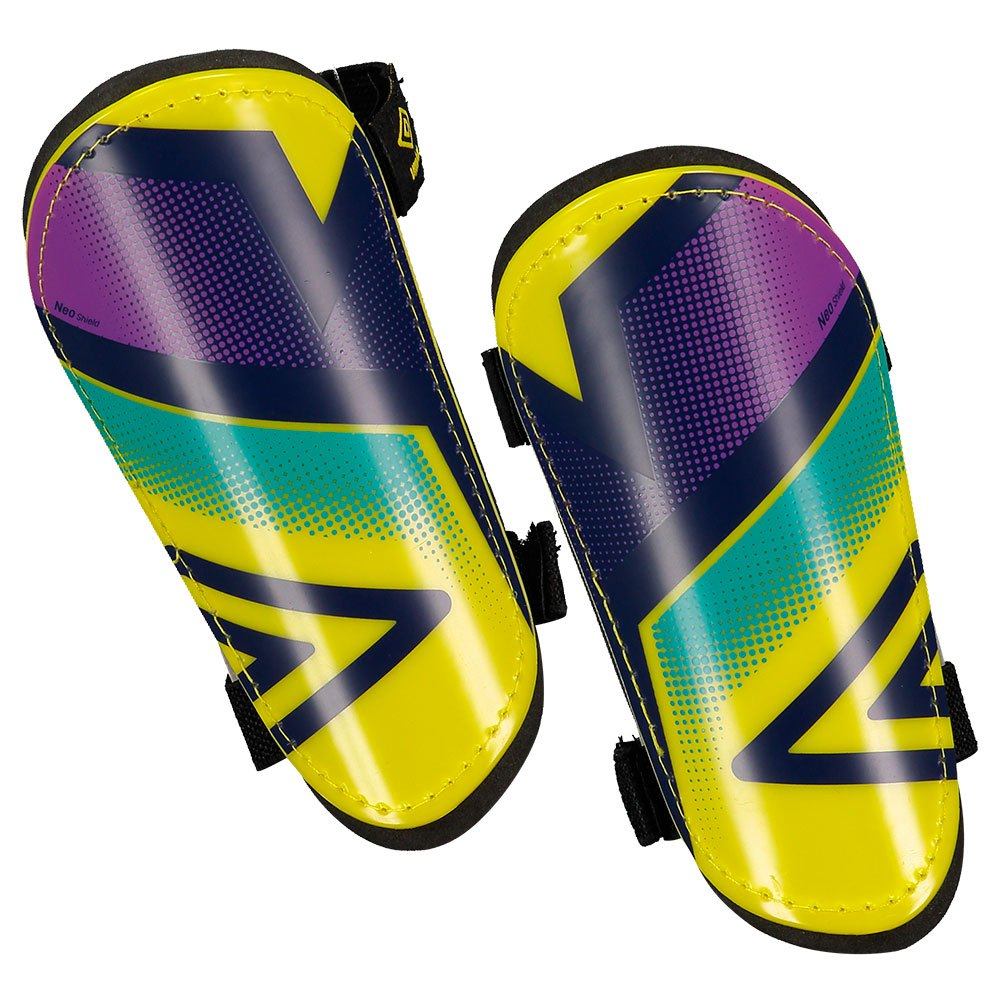 Umbro Neo Shield Slip Junior XS Yellow / Purple Cactus / Bluebird