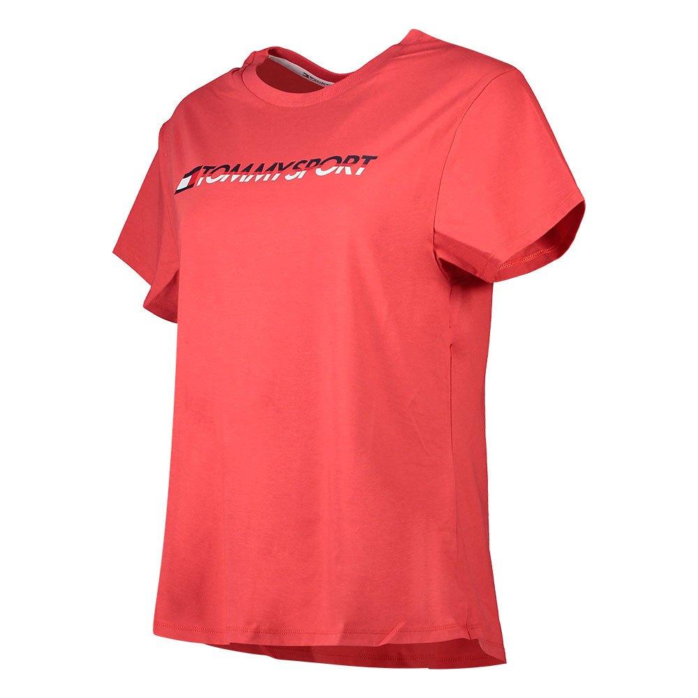 Tommy Hilfiger Sportswear T-shirt Manche Courte Logo Co/ea L Cardinal