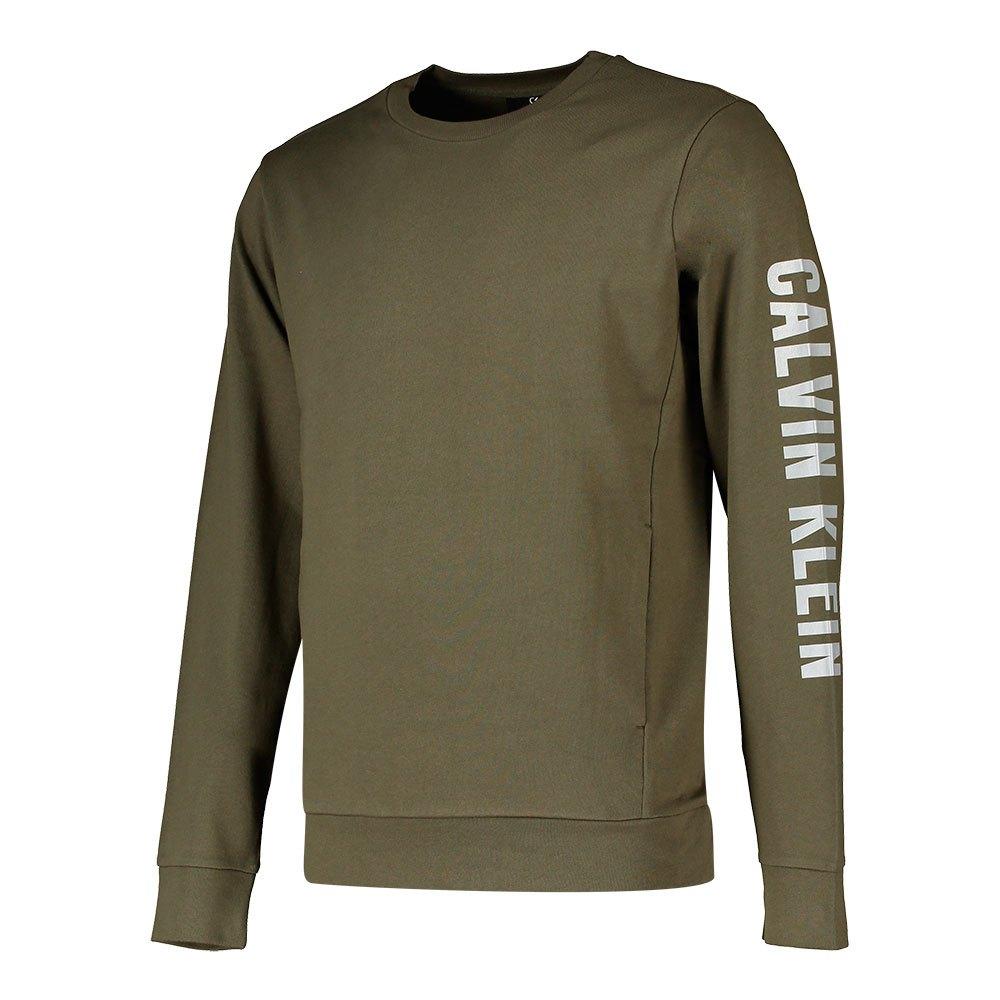 Calvin Klein Performance Sweatshirt Logo S Grape Leaf