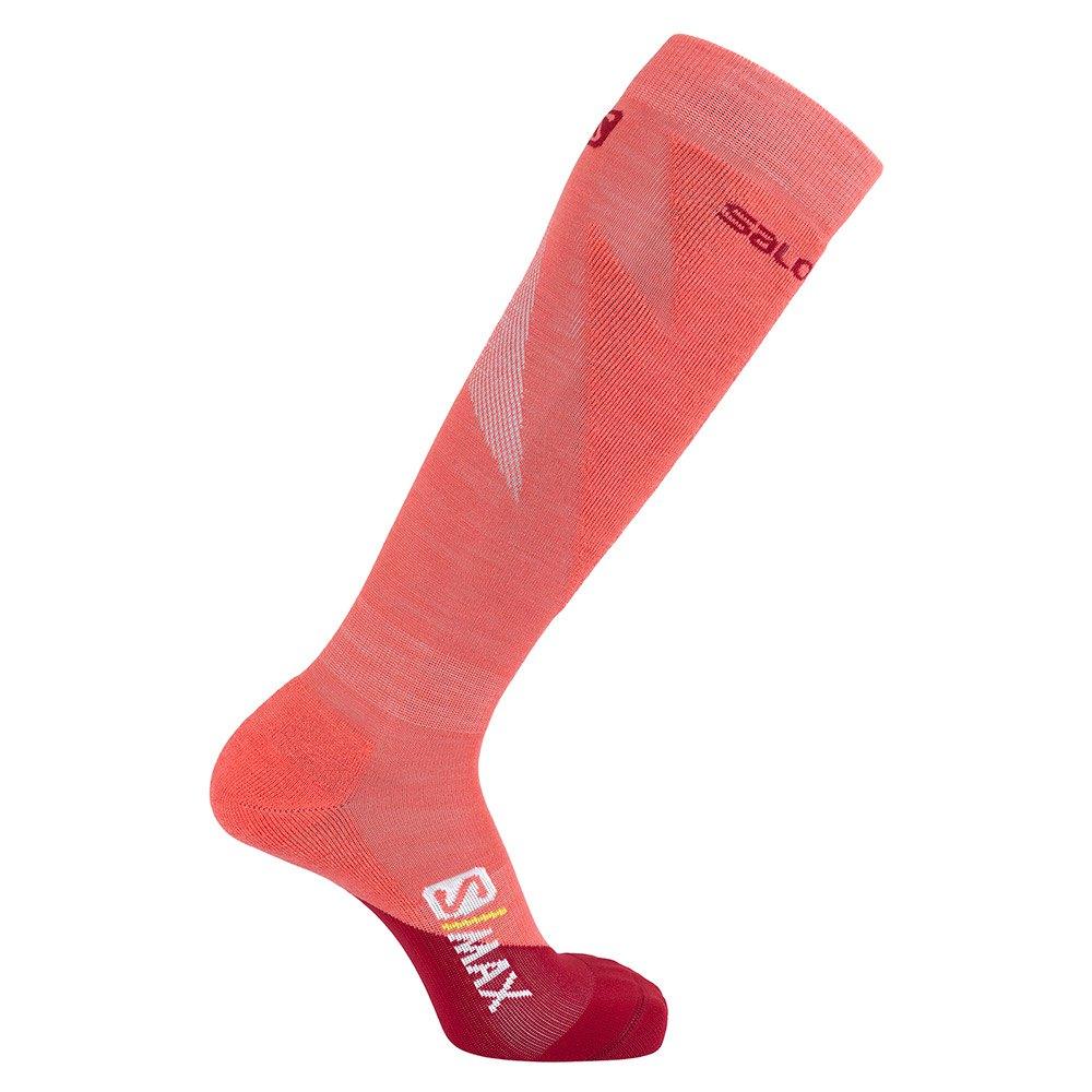 salomon-socks-s-max-eu-36-38-rio-red-calypso-coral
