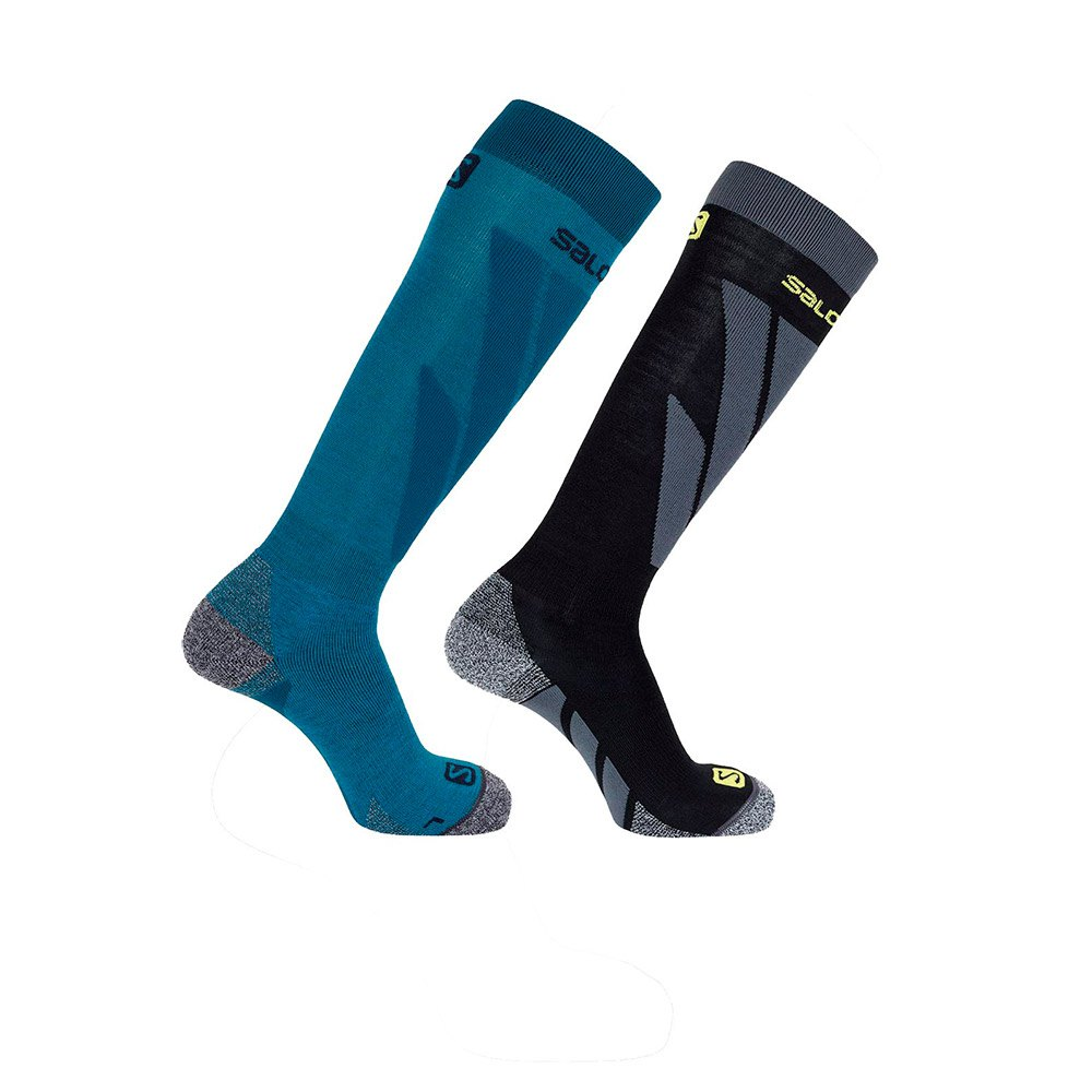salomon-socks-s-access-2pp-eu-39-41-fjord-blue-black