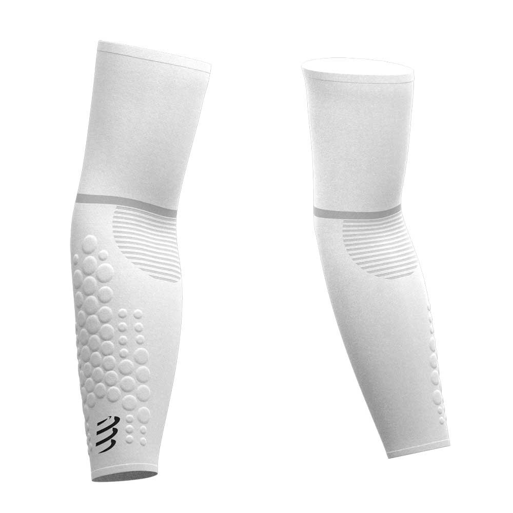 Compressport Arm Force Ultralight T3 White