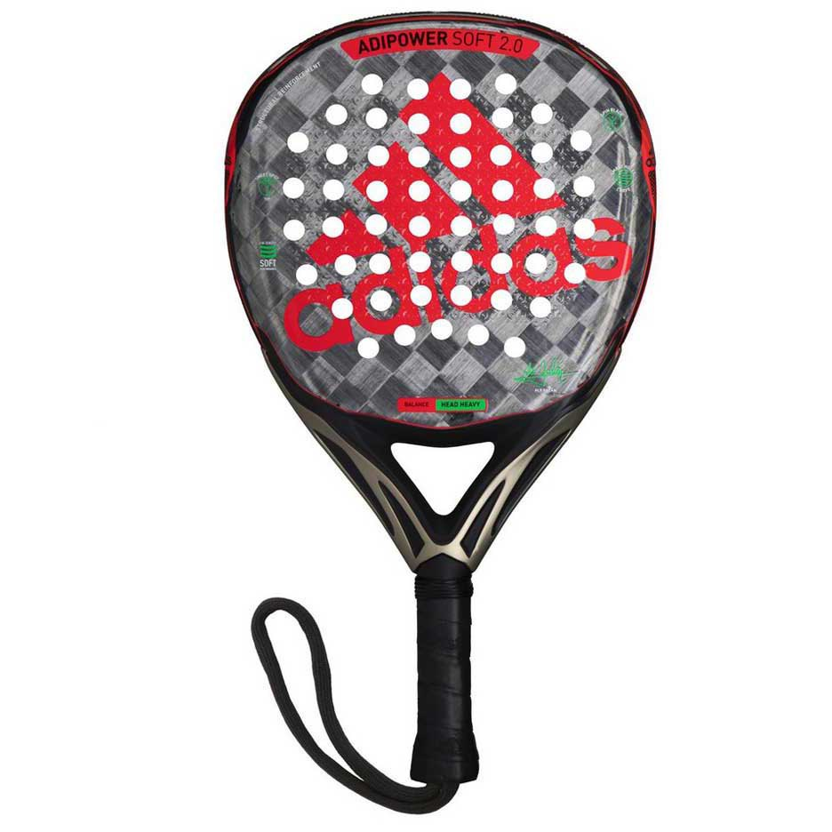 Adidas Padel Adipower Soft 2.0 One Size Red / Grey / Black