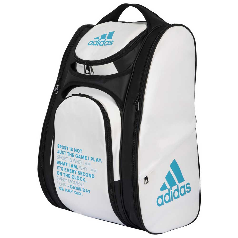 Adidas Padel Multigame 2.0 One Size White / Blue / Black