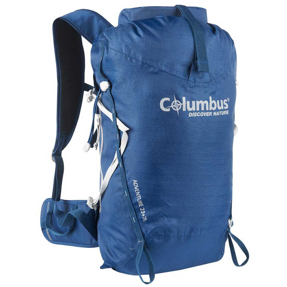 Columbus Sac À Dos Adventure 23+7l Roll Up One Size Navy
