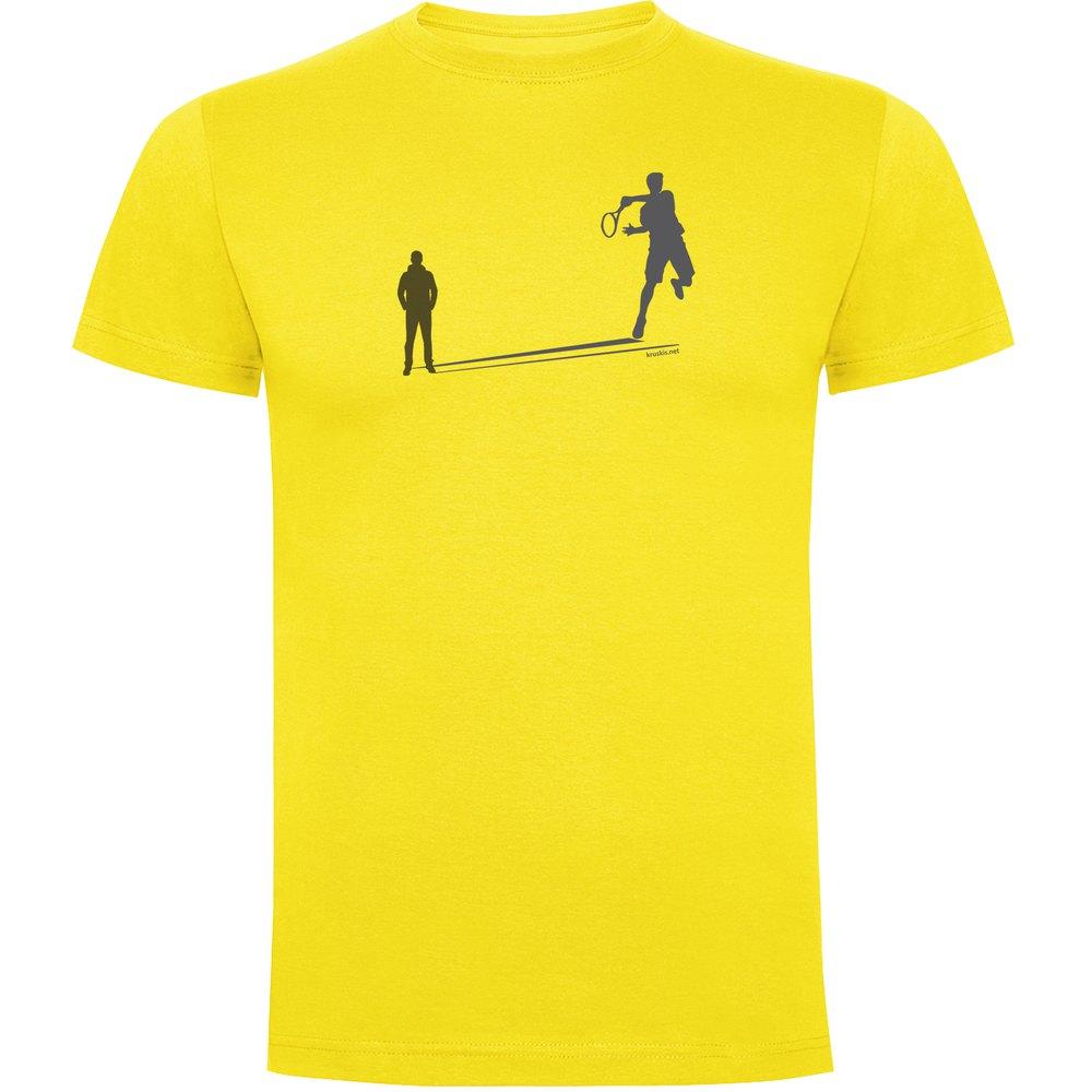 Kruskis Tennis Shadow XXXL Yellow