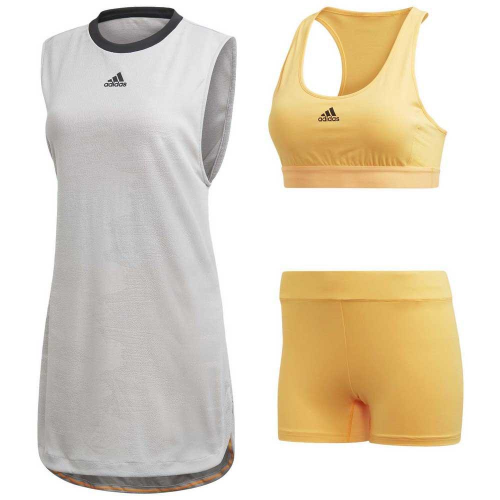 Adidas New York 32 Grey Three / Flash Orange