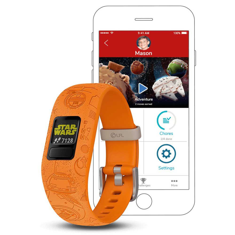 Garmin Vivofit Junior 2 One Size Light Side Orange
