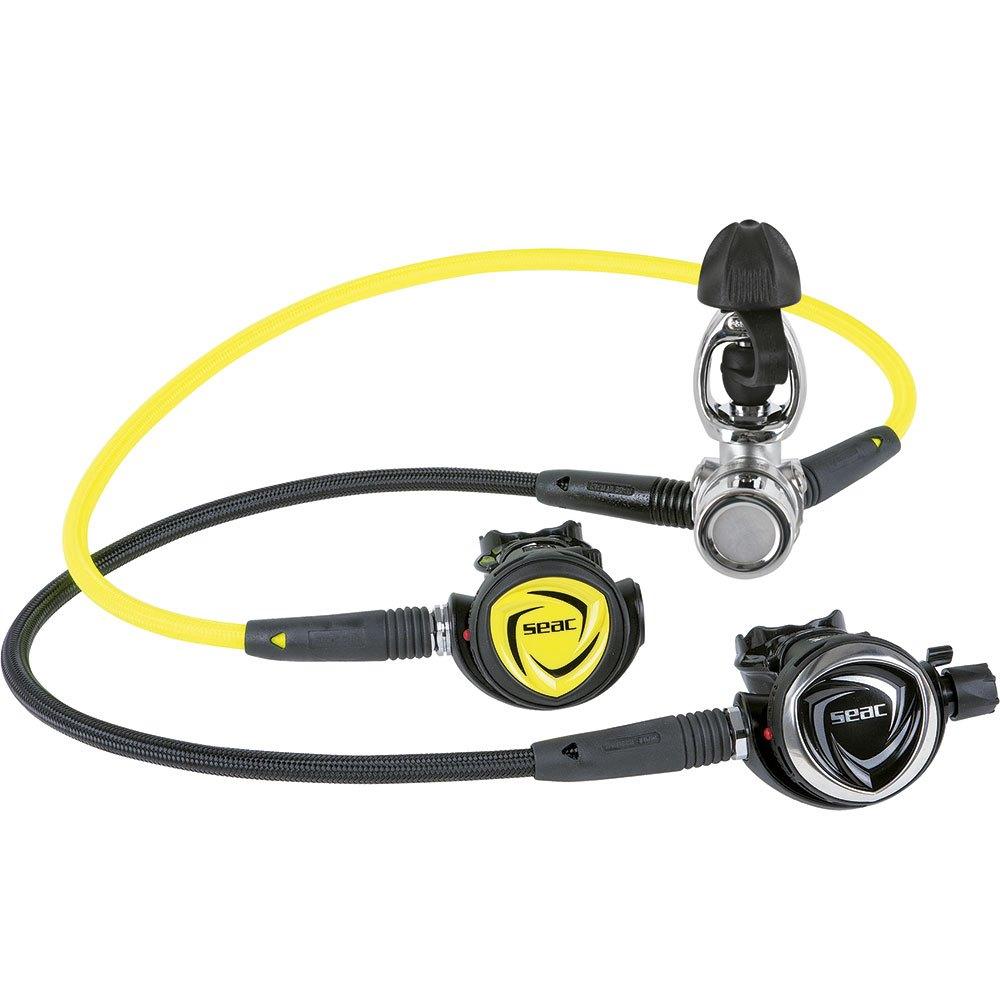 Seacsub Dx200 Ice Int Atemregler Set 230 Bar Yellow Black Atemreglersets Dx200 Ice Int Atemregler Set 230 Bar
