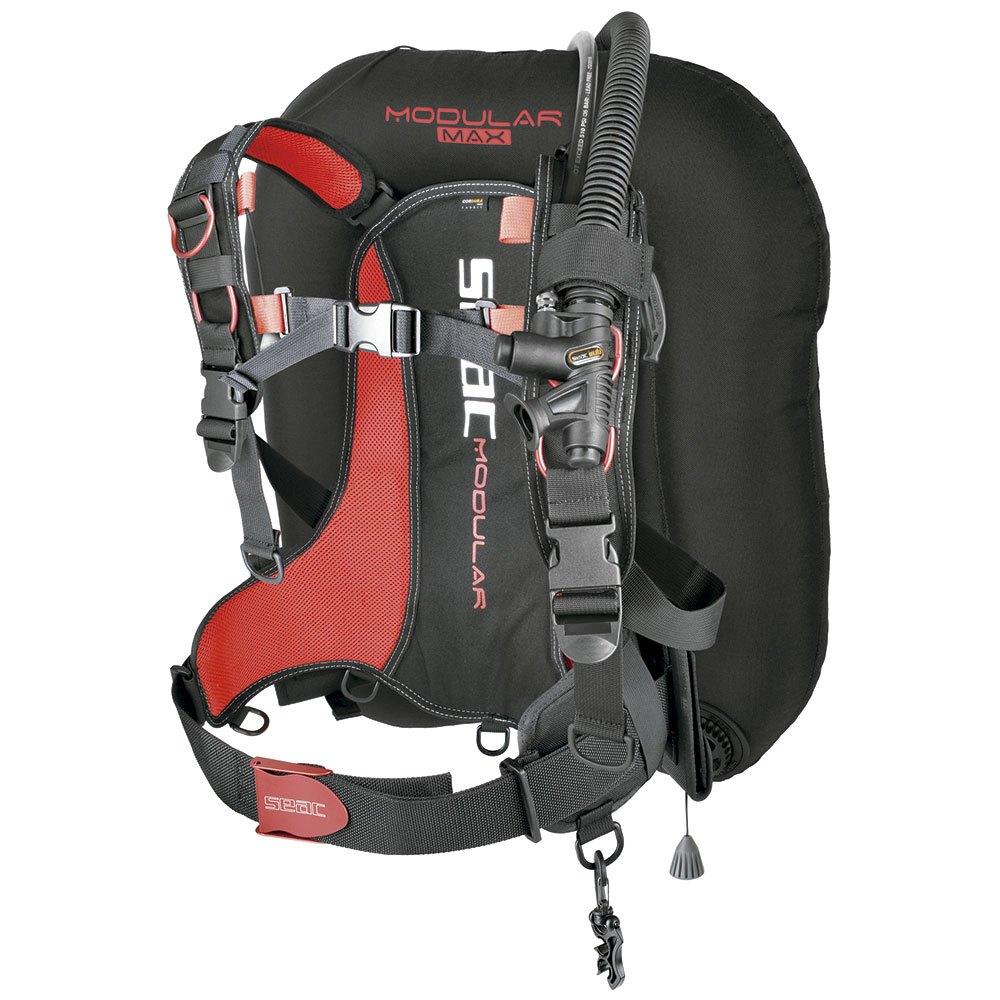 Seacsub Modular Max Tarierjacket Black Red Westen Modular Max Tarierjacket