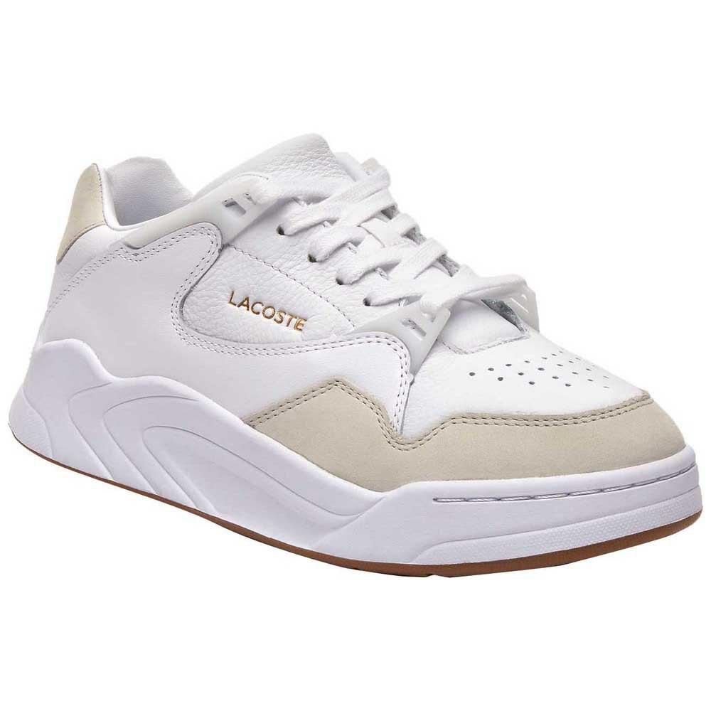 Lacoste Court Slam Tonal Leather EU 41 White / Gum