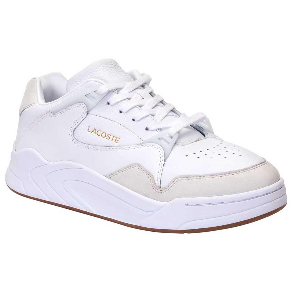 Lacoste Court Slam Tonal Leather EU 39 1/2 White / Gum