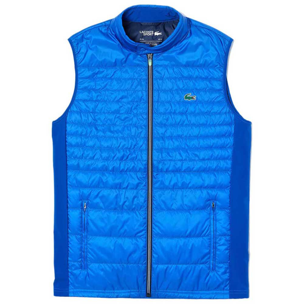 Lacoste Sport Lightweight Quilted Golf 52 Aviator / Navy / Onager