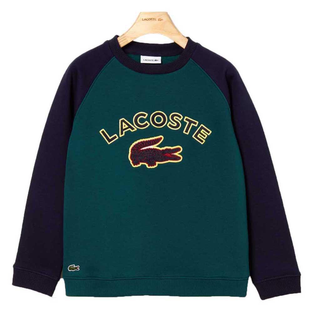 Lacoste Croc Patch Colorblock Fleece 8 Years Hetre / Navy