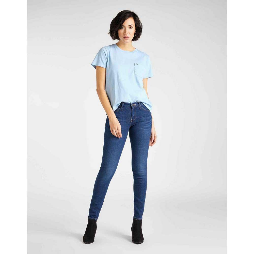 Lee-Scarlett-Multicolore-T92114-Pantaloni-Donna-Multicolore-Pantaloni-Lee miniatura 8