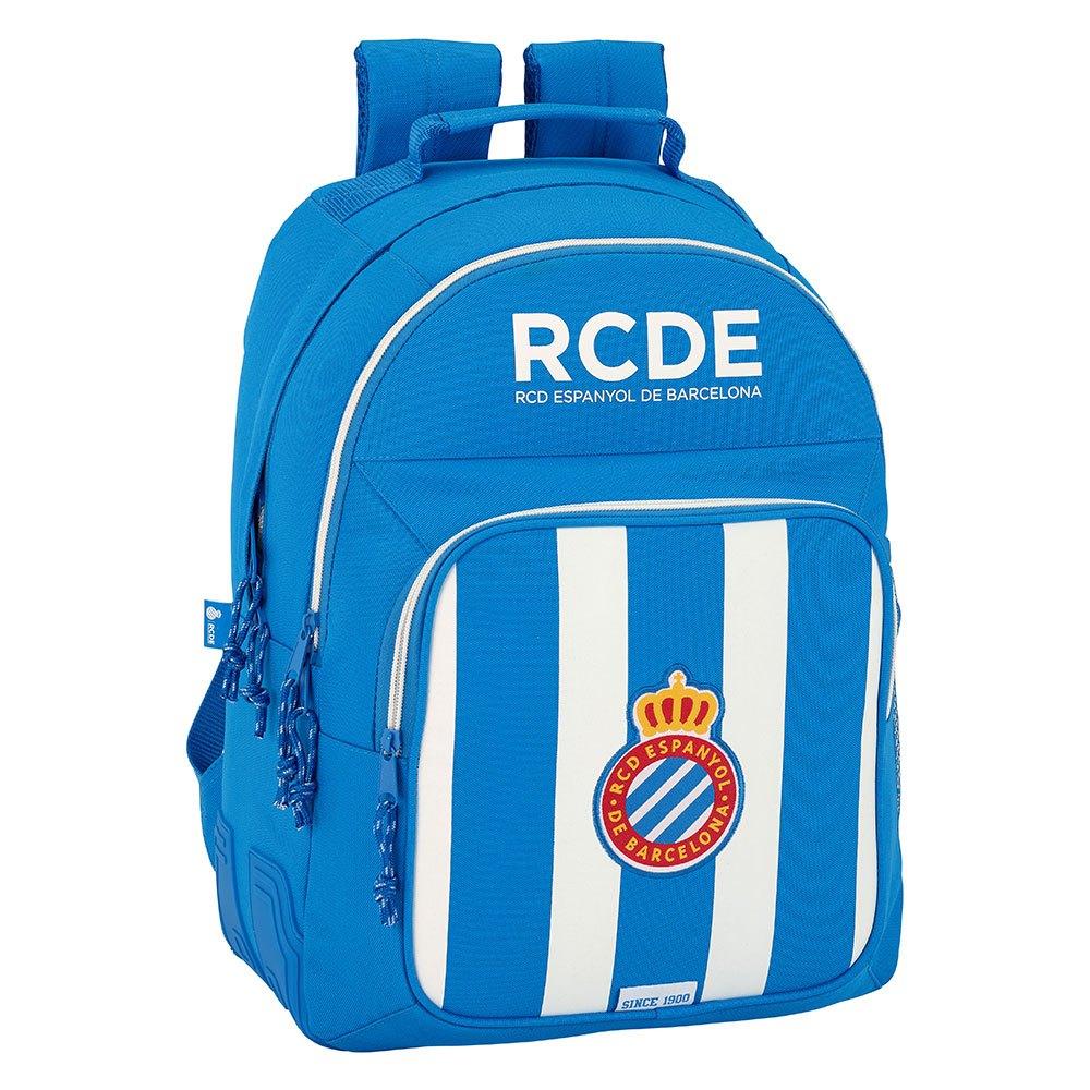 Safta Rcd Espanyol Double 20.2l One Size White / Blue