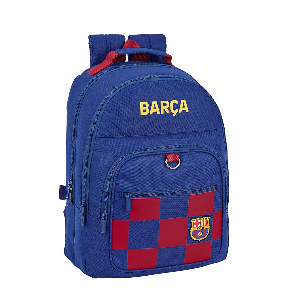 Safta Fc Barcelona Home 19/20 Double 21.5l One Size Navy Blue