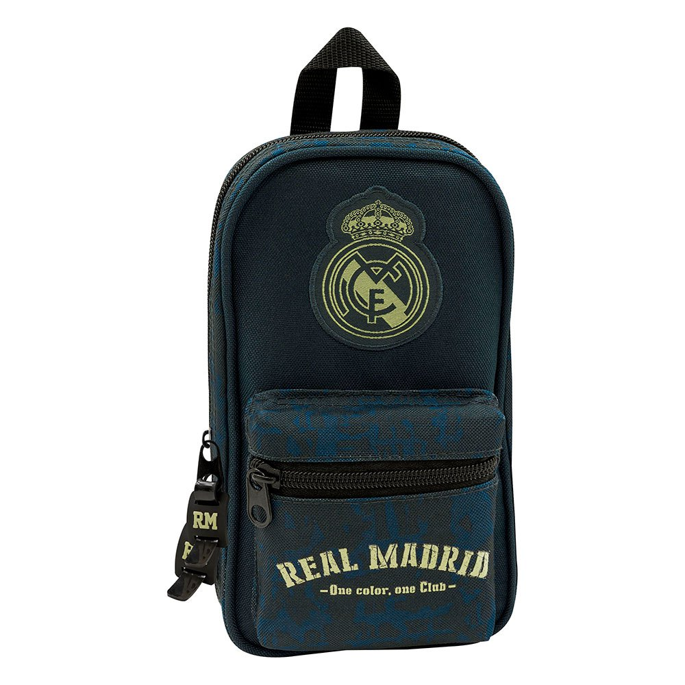 Safta Real Madrid Away 19/20 Pencil Case Filled One Size Navy Blue