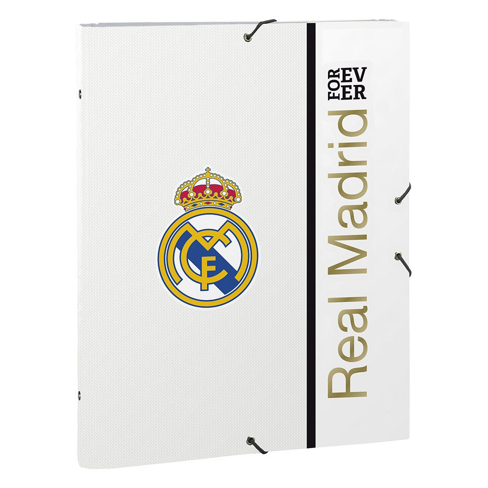 Safta Real Madrid Home 19/20 One Size White / Black